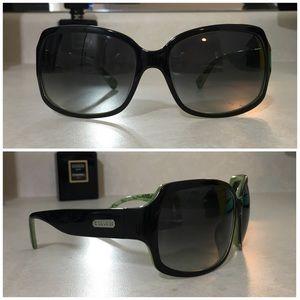 🆕Coach Ginger Sunglasses Black & Green